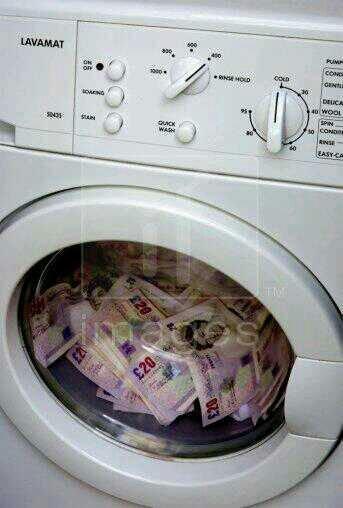 المعنى الحقيقي لغسيل الاموال ....