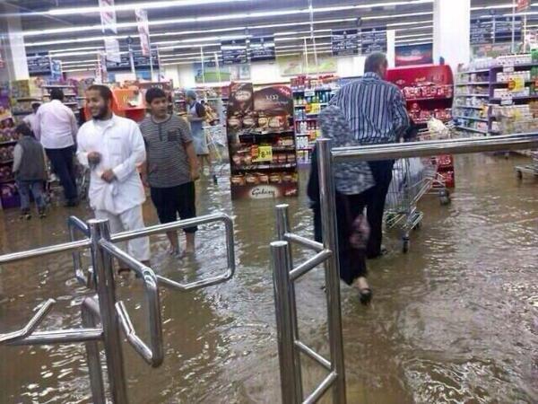 أسواق الرياض بعد السيول