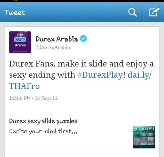 What the hell is this? Durex is promoting this in the middle east