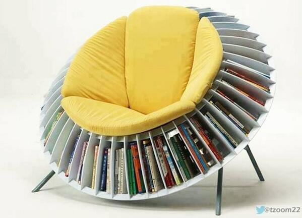 كرسي لعشاق القراءة ،هل تحب القراءة...؟