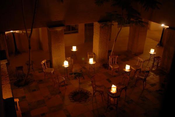 الشموع في أحد بيوت #الطفيلة #الأردن