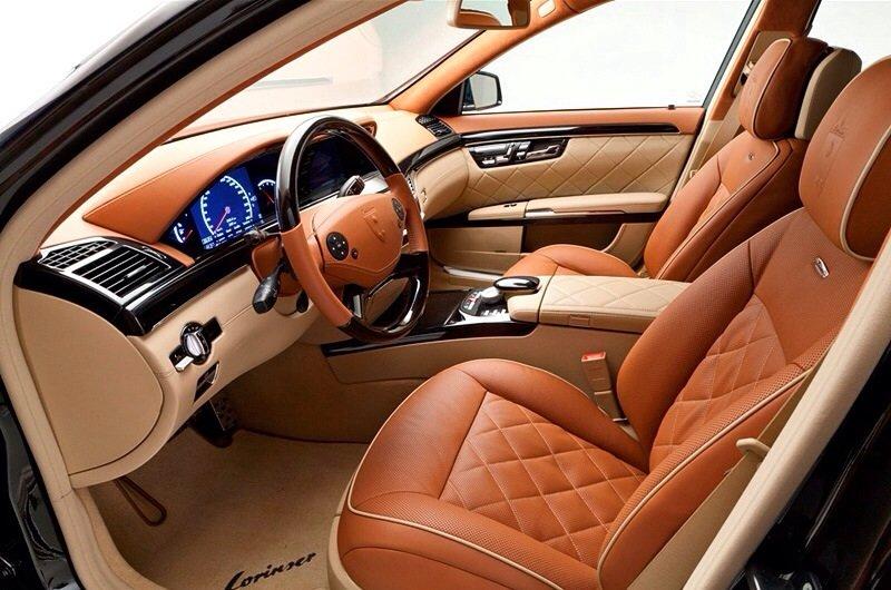 Mercedes-Benz S 600 Lorinser 6.0 V12 Bi-turbo - interior shot
