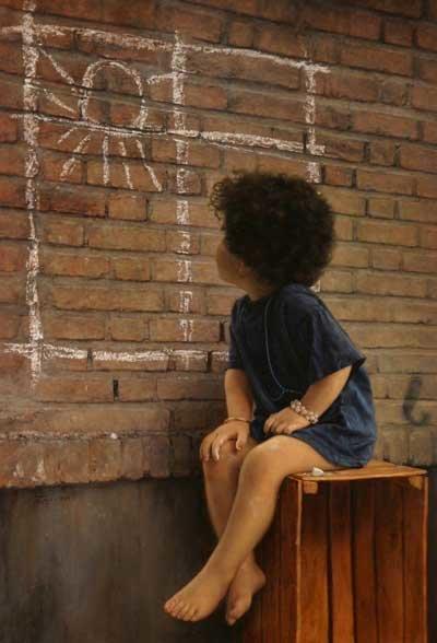 Iranian painter iman maleki #Reality_Painter - 1