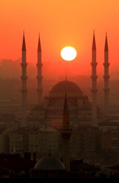 Amazing #Sunset in #Turkey