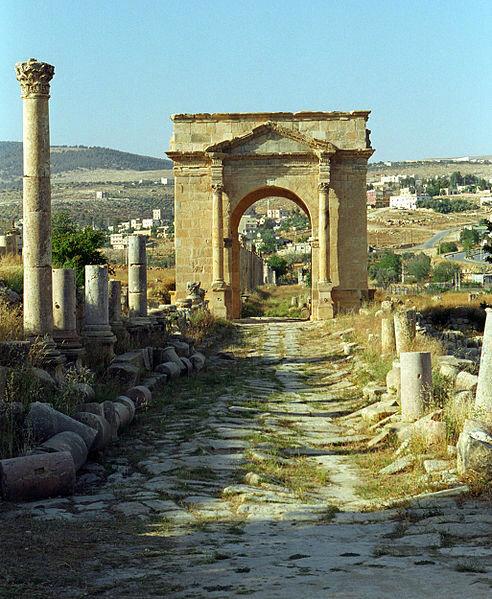 صور منوعة لمدينة #جرش في #الأردن - صورة 6
