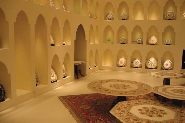 مركز ميراج للفن الاسلامي في #أبوظبي