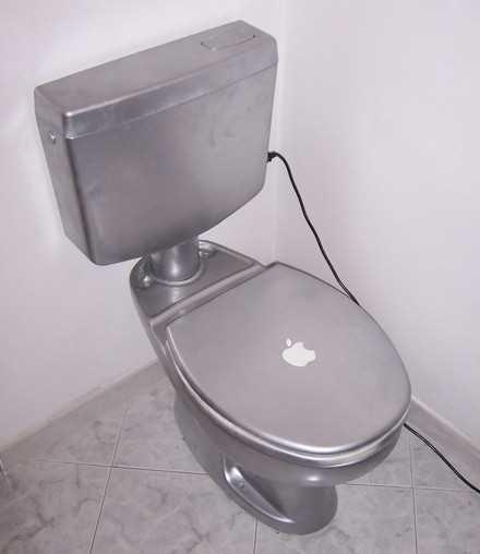 itoilet #Apple