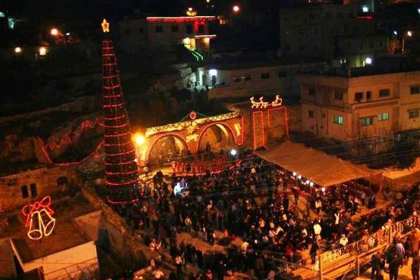 احتفالات #رأس_السنة في #الفحيص #الأردن
