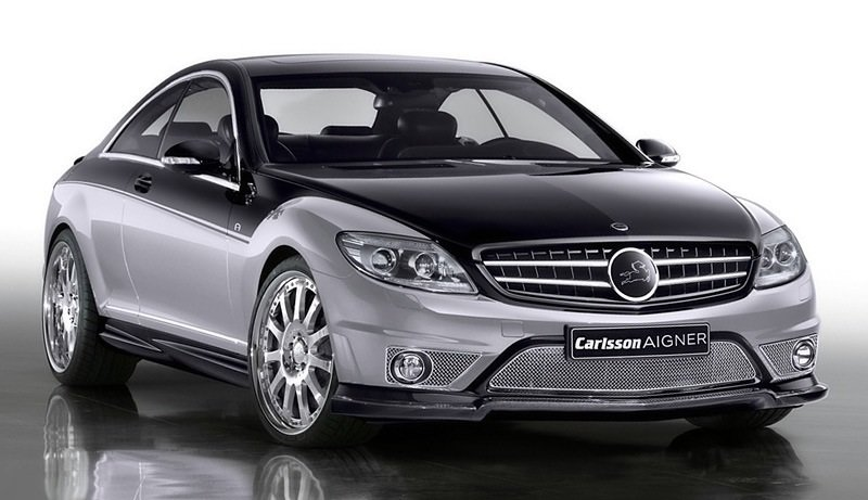 Mercedes-Benz Carlsson Aigner CK65 Eau Rouge Dark Edition - front shot