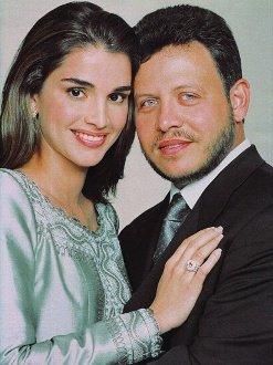 جلالة#الملك_عبدالله الثاني وجلالة #الملكة_رانيا #الأردن