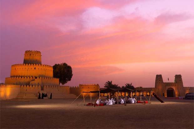 قلعة الجاهلي في #العين #أبوظبي