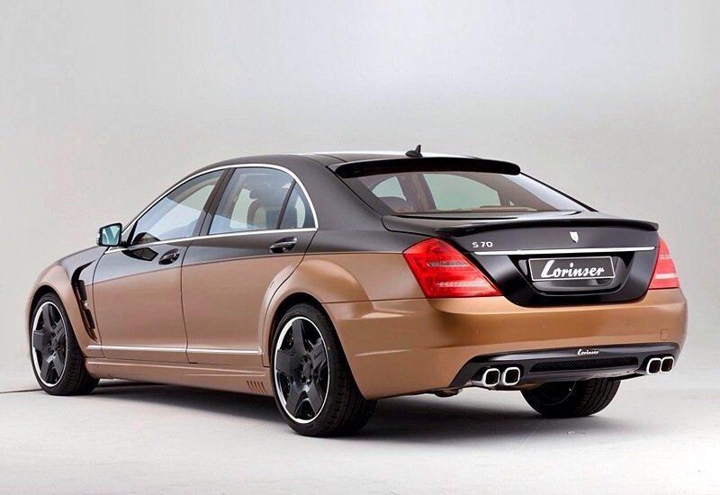 Mercedes-Benz S 600 Lorinser 6.0 V12 Bi-turbo - rear shot