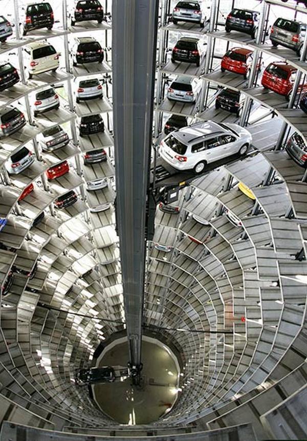 Volkswagen factory garage, Germany
