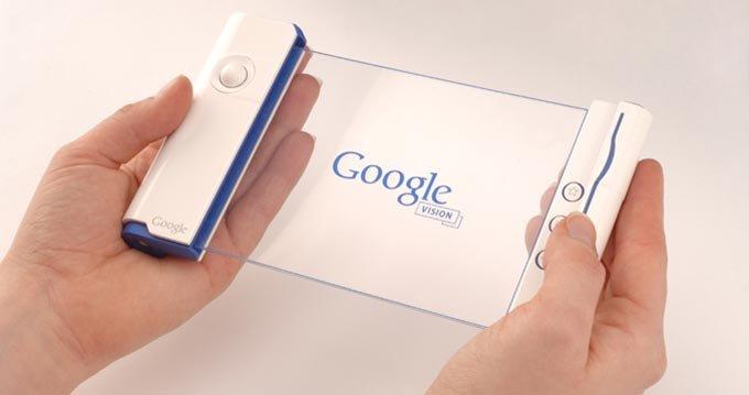 هاتف وحاسوب جوجل المتوقع