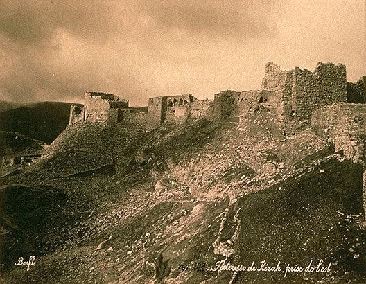 صورة تعود لأكثر من مئة عام لقلعة #الكرك في #الأردن #تاريخ