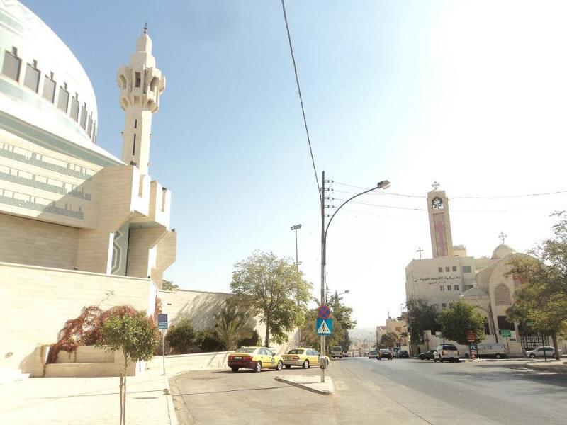 التعايش الإسلامي المسيحي في #عمان #الأردن