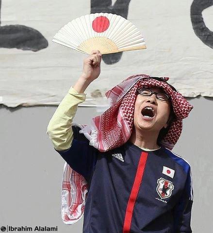 حال اليابانيين بعد فوز منتخب النشامى #الأردن