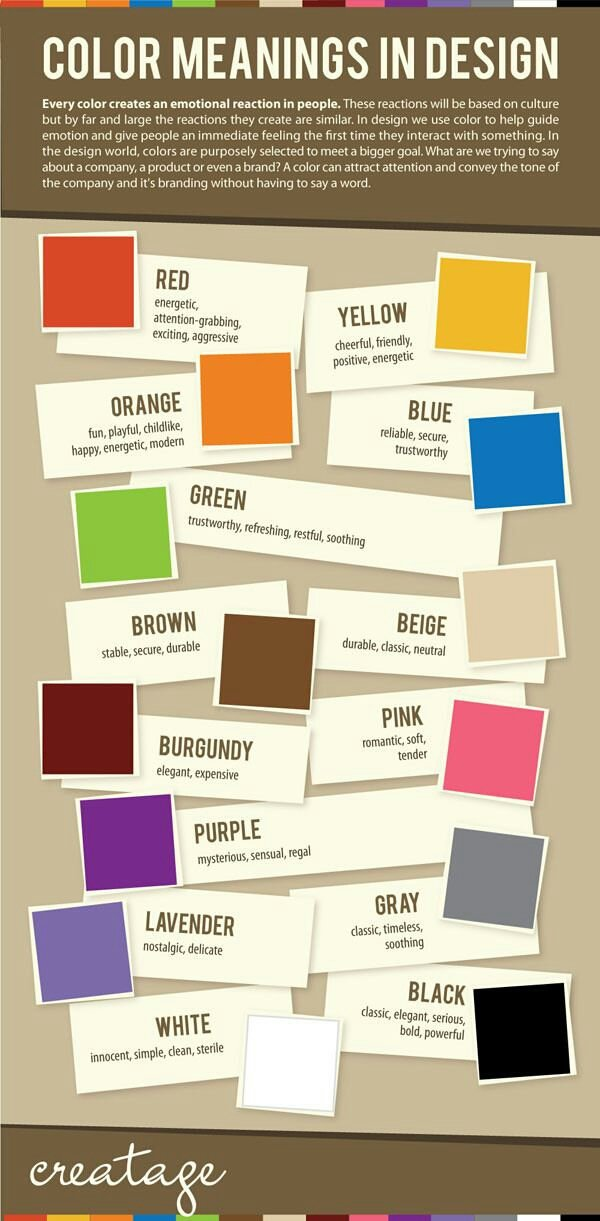 colors meaning in design