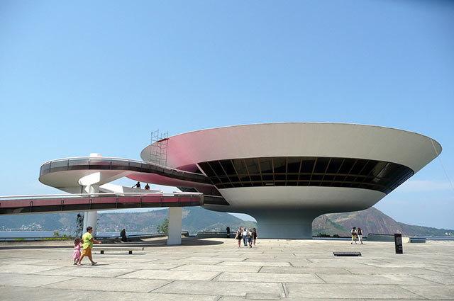 Amazing Buildings - Museum of Contemporary Art (Niteroi, Brazil)