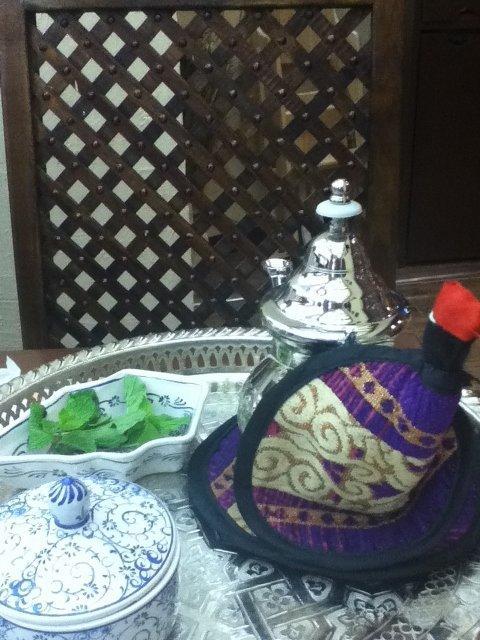 شاي مغربي في المطعم الإيراني شهريار في #العين مول #أبوظبي