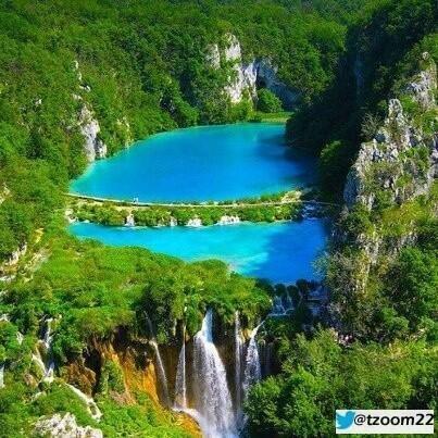 بحيرة ببليتفيتش في كرواتيا سحر الطبيعة
