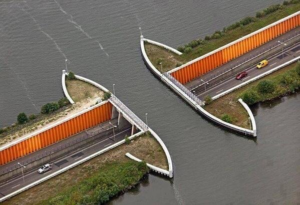 Driving Underwater, Netherlands