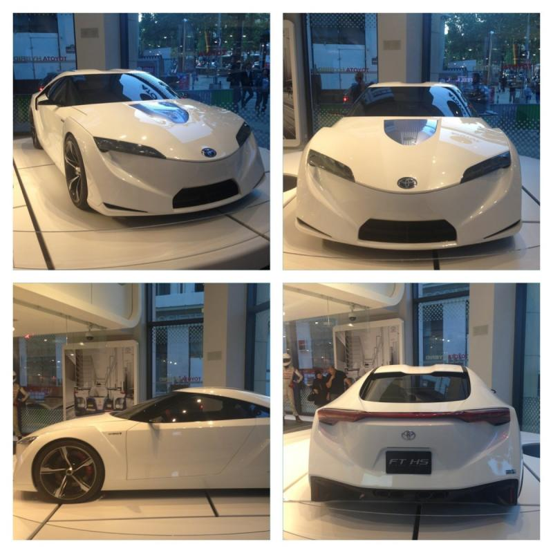 Toyota FT-HS Hybrid launched in Paris