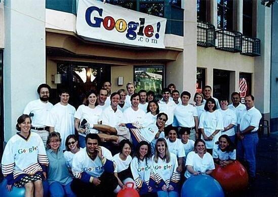 The initial #Google team