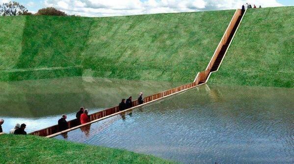 The Moses Bridge, Holland
