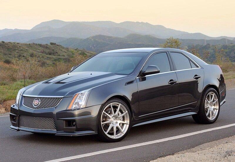 Hennessey V800 Cadillac CTS-V - front shot