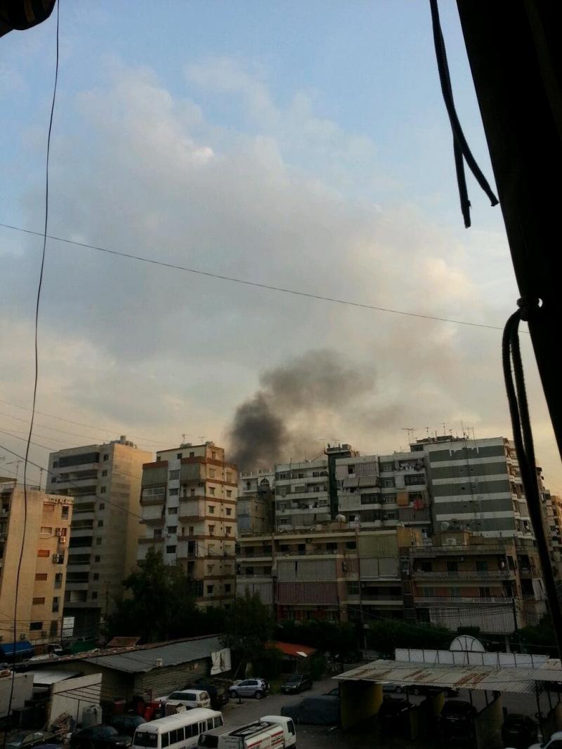انفجار الضاحية الجنوبية بئر العبد #بيروت