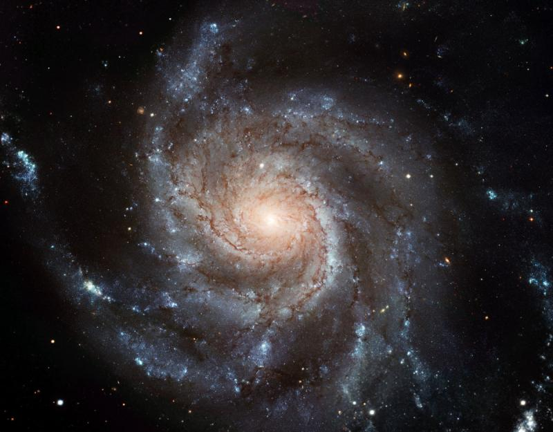 Largest ever galaxy portrait - stunning HD image of Pinwheel Galaxy - space