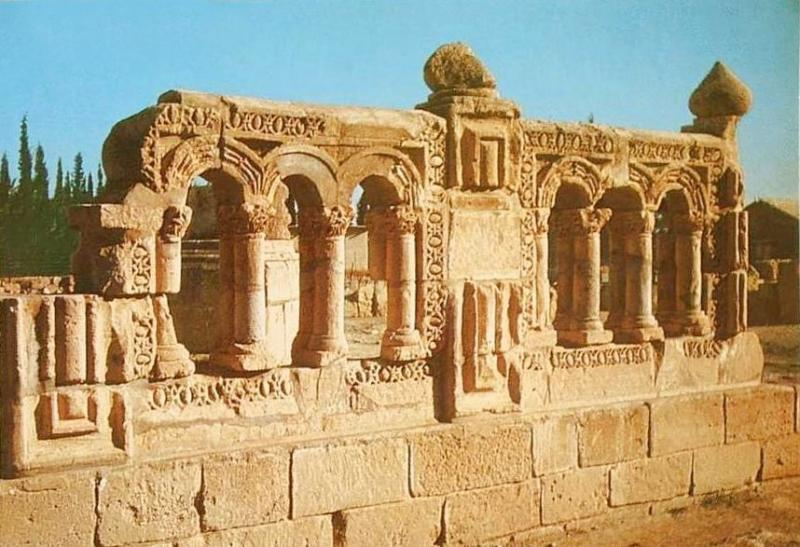 JERICHO - 1960s 6 - Ruins of Hisham bin Abdul Malek Palace G