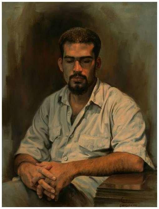 Iranian painter iman maleki #Reality_Painter - 12