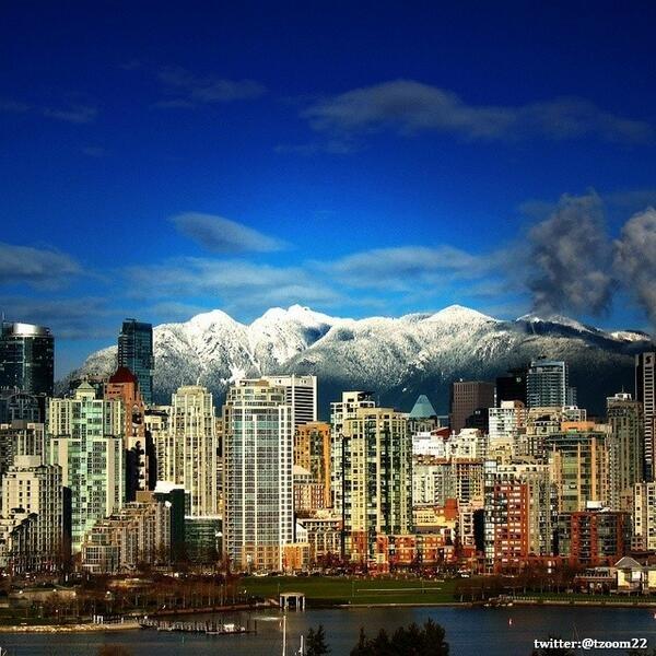 صورة رائعة لـ مدينة فانكوفر الكندية ..!