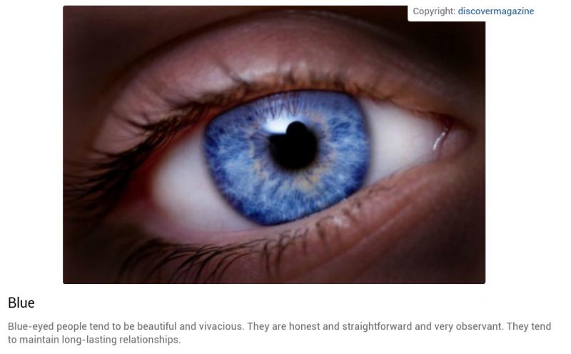 شخصيتك حسب لون عينيك: الأزرق #تحليل_شخصية