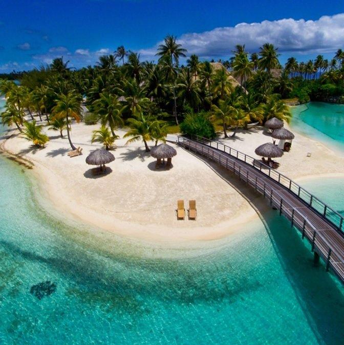 Bora Bora Resort in French Polynesia