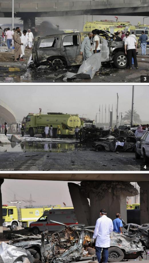 المزيد من صور تفجير #الرياض #السعودية نقلا عن صحيفة الرياض 4