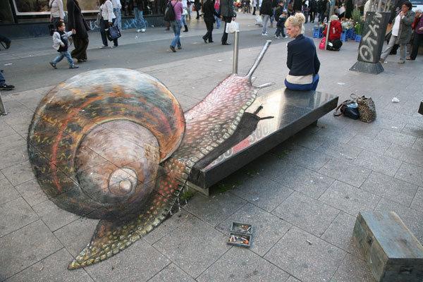 رسومات شوارع ثلاثية الأبعاد - صورة 11