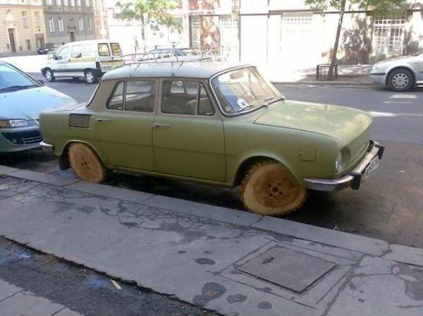 سيارة صديقة للبيئة .... جدا #نهفات