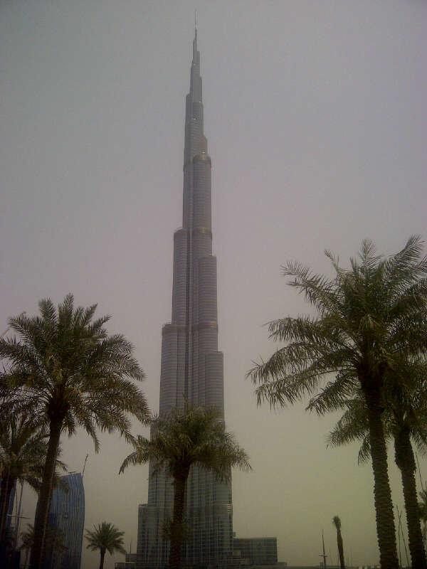 صورة ل #برج_خليفة في #دبي