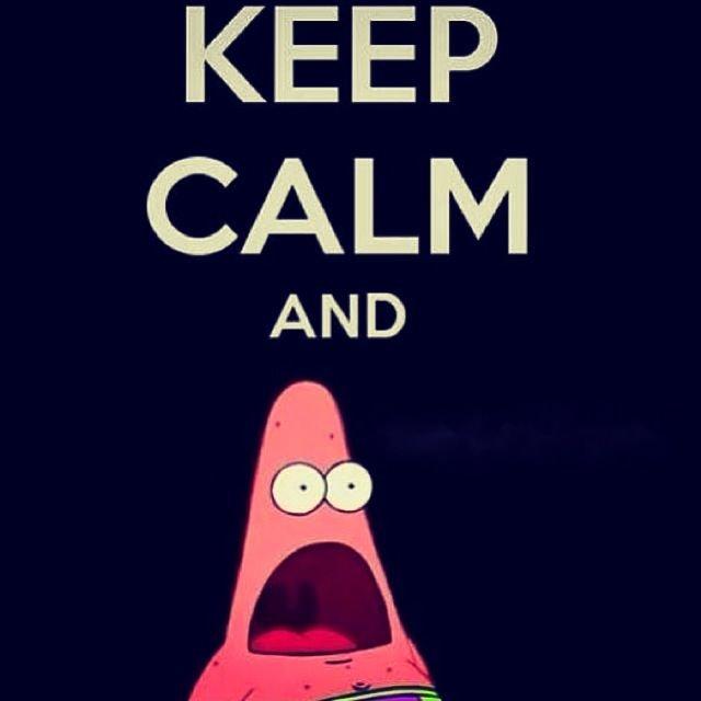 keep calm & Shout ..