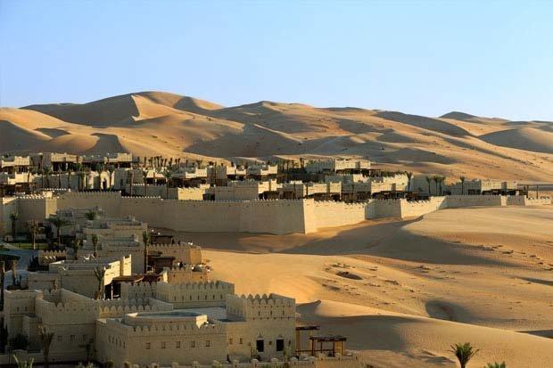 فندق قصر السراب في ليوا #أبوظبي