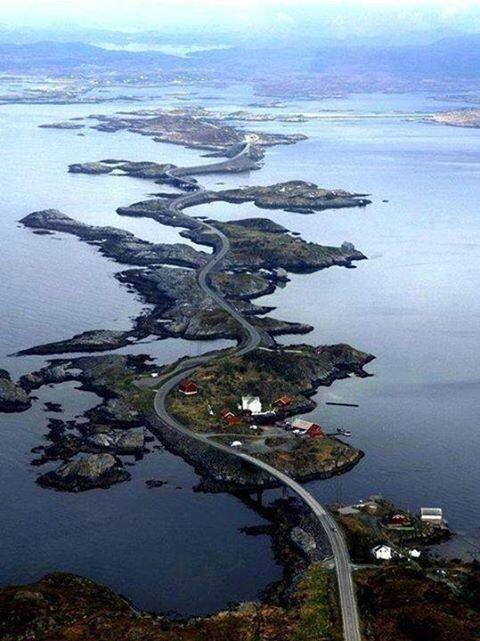 طريق المحيط الأطلسي النرويج