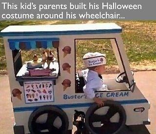 kid in wheel chair