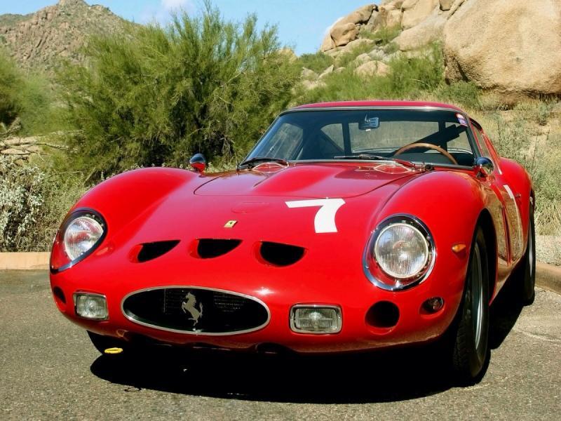 1962 Ferrari GTO 250 - front shot
