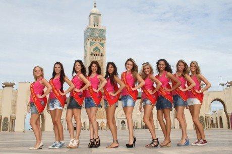 ملكات جمال #بلجيكا في #المغرب