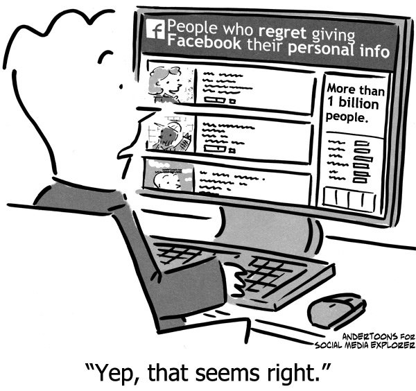 The Reality of #Facebook Graph Search #Comic