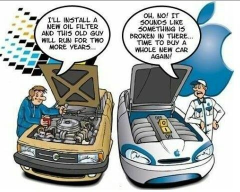 the difference between #windows and #apple