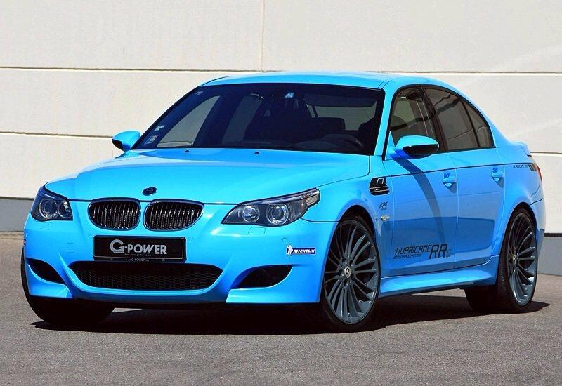 BMW M5 G-Power Hurricane RRs - front shot